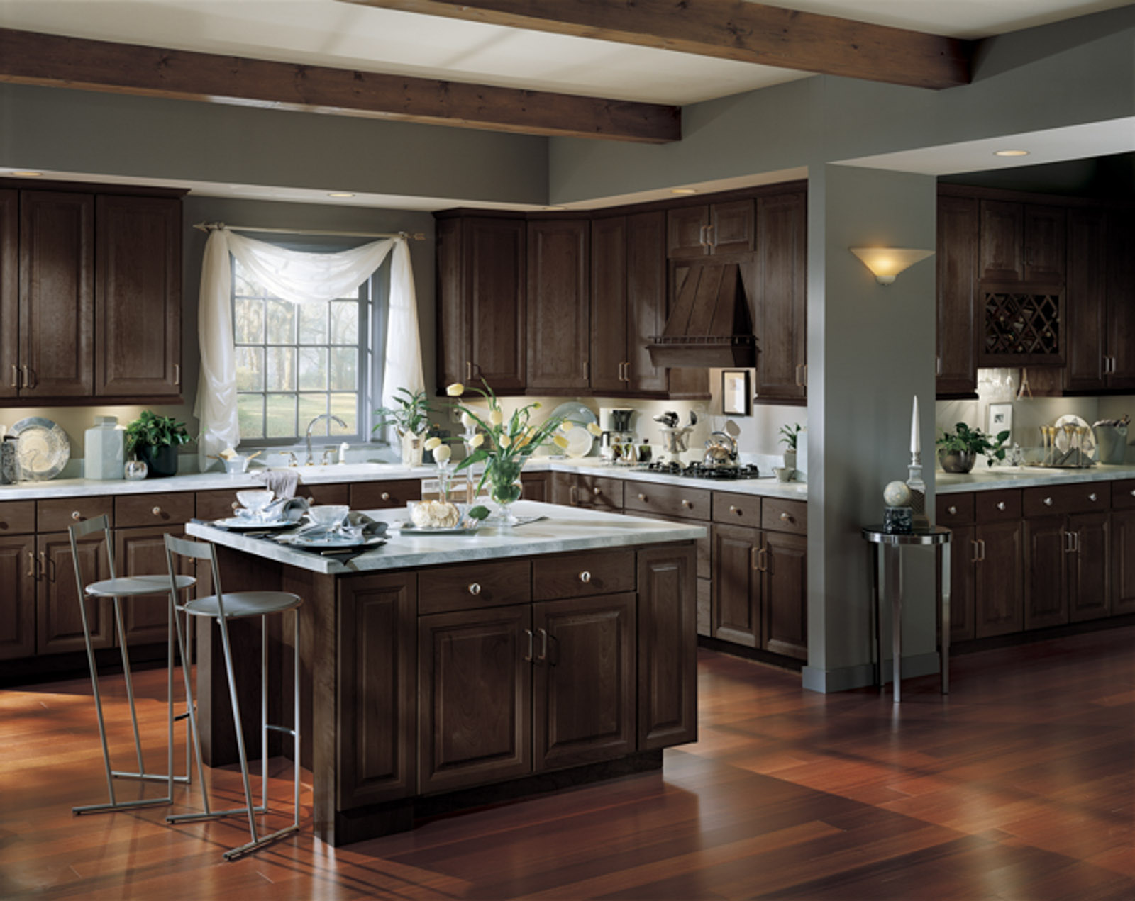 Kitchen collections rfd sales for Kitchen designs with espresso cabinets